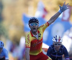 🎥 Valverde zegeviert in sprint met twee en hangt naast regenboogtrui ook derde nationale trui in zijn kast