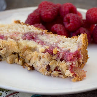 Raspberry Coffee Cake.