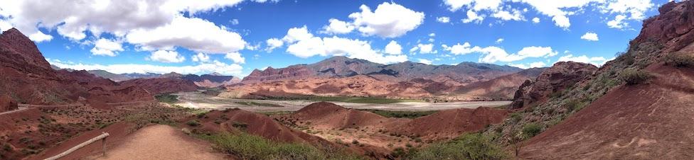 Quebrada de las Conchas, Argentyna