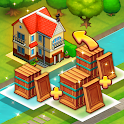 Merge Puzzle Town! icon