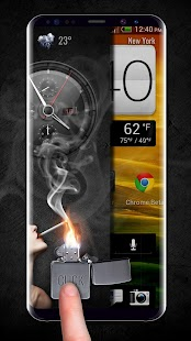 Smoke screen lock & lighter lock screen - náhled