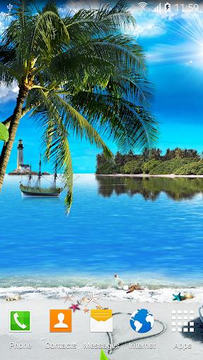 Beach Live Wallpaper 1.0.7 screenshots 2