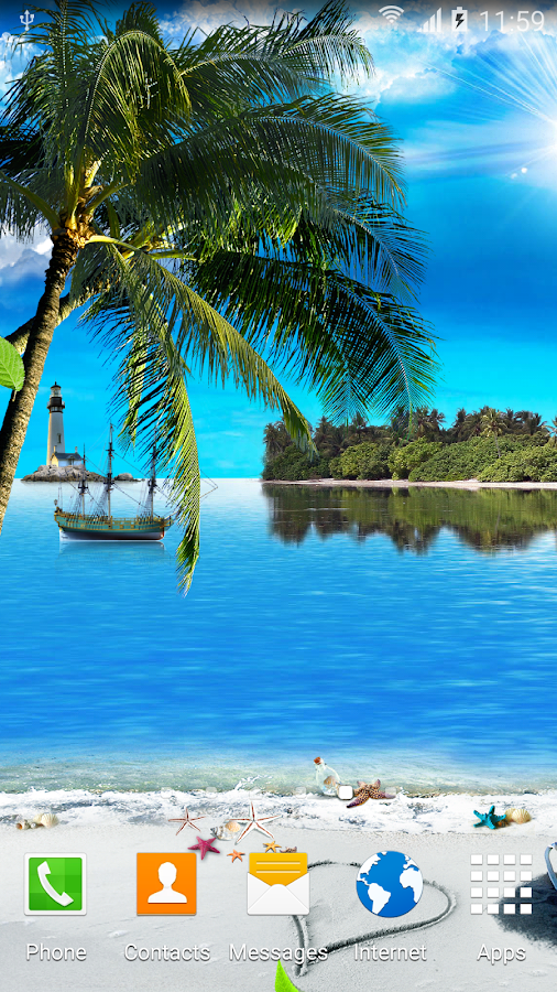 Beach Live Wallpaper - Android Apps on Google Play