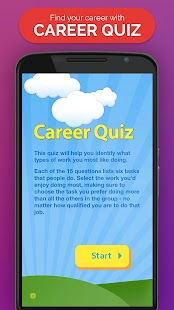 Career Quiz- screenshot thumbnail