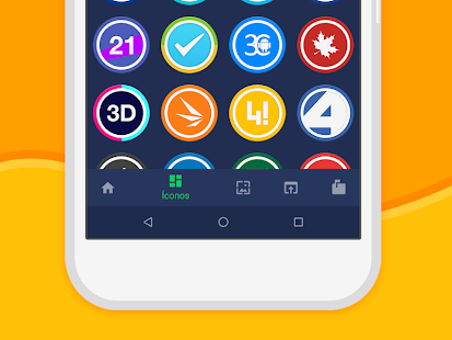 Iris UI - Icon Pack Screenshot