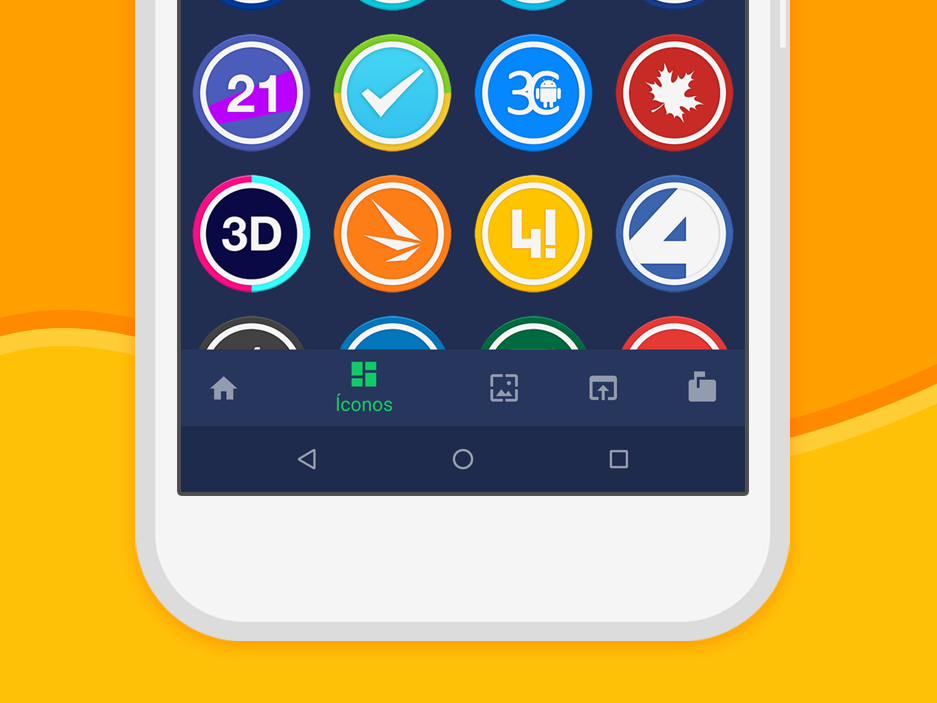 Iris UI - Icon Pack- screenshot