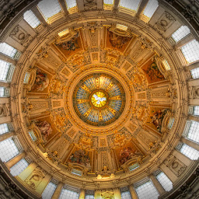Berlin Cathedral Dome by Wil Domke - Buildings & Architecture Places of Worship ( church, dome, cathedral, berlin, architecture, berliner dom )