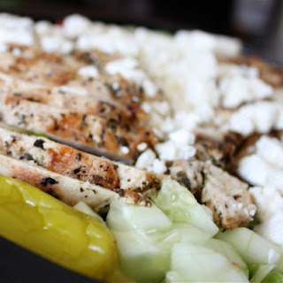 Greek Grilled Chicken Salad Recipe
