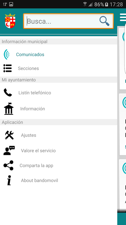Valera Informa- screenshot