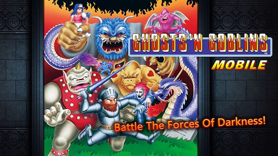 Ghosts'n Goblins MOBILE: miniatura de captura de pantalla