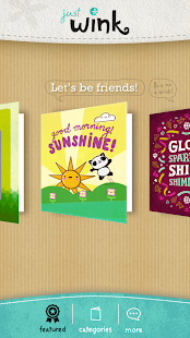 justWink Greeting Cards - screenshot thumbnail
