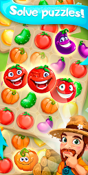 Funny Farm match 3 Puzzle game! APK screenshot thumbnail 5