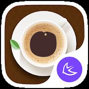 Food&I Love Coffee-APUS launcher theme