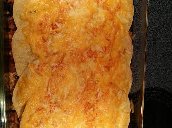 Chimichanga Casserole Recipe
