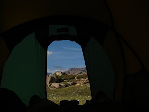Photo: A perfect experience in a tent ...
