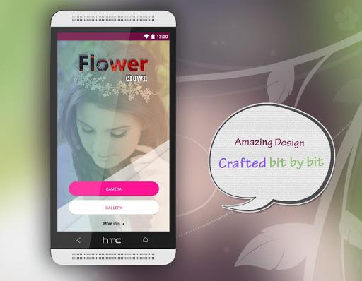 玩免費遊戲APP|下載Flower Crown Photo Editor app不用錢|硬是要APP