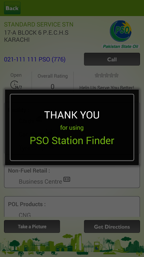 PSO Station Finder- screenshot