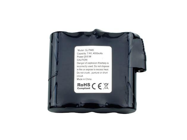 Litiumbatteri till underställ, värmeväst eller värmebälte
