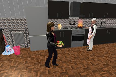 Virtual Waitress : Hotel Manager Simulator 5