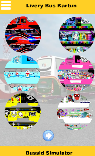 Livery Bussid Kartun Animasi 1.0 screenshots 1