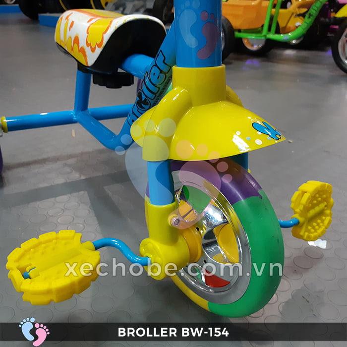 Xe đạp 3 bánh cho bé Broller XD3-154 5