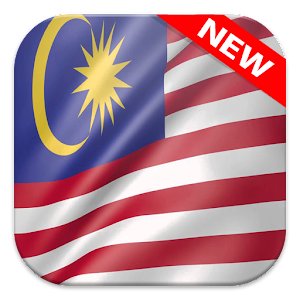 Malaysia Flag Wallpapers 3.0 by FlagWallpapers logo