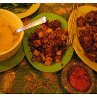 Indonesian Chicken Satay.
