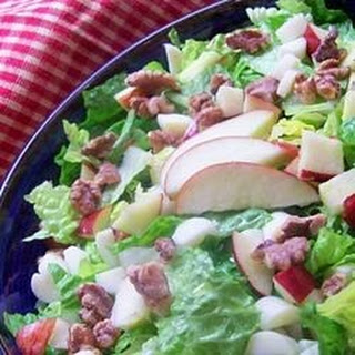 Apple, Brie, and Walnut Salad.