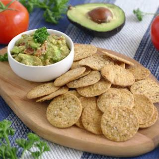 Salsa Guac & Homemade Tortilla Chips.