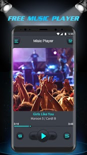 Free Music Player - Equalizer & Bass Booster Screenshot