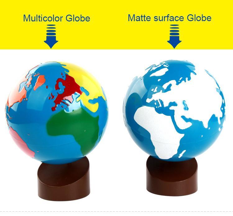 globe terrestre activité montessori géographie