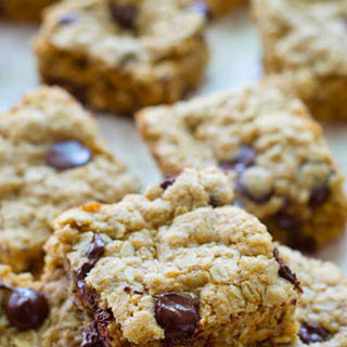 Oatmeal Chocolate Chip Cookie Snack Bars.