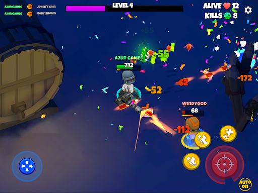 Warriors.io - Battle Royale Action android2mod screenshots 12