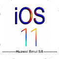 Flat iOS11 theme for Huawei APK