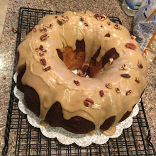 #BUNDTBAKERS APPLE~CREAM CHEESE BUNDT CAKE