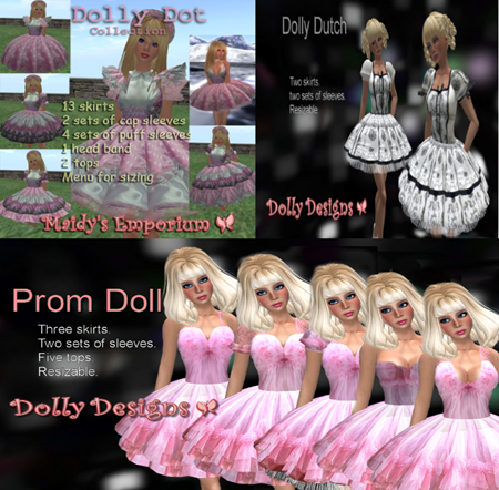 Miss Dolly Dress creations