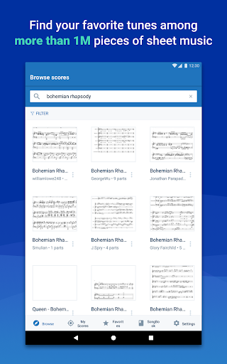 MuseScore: view and play sheet music 2.5.25 screenshots 12