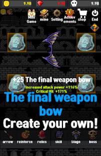 Grow final weapon bow