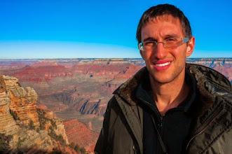 Photo: Daniele at the South Rim of Grand Canyon Nation Park, Arizona, USA