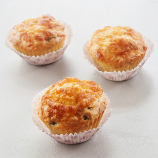 Airfryer Cheese & Bacon Muffins