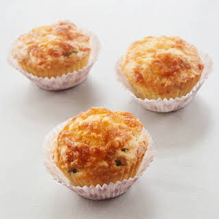 Airfryer Cheese & Bacon Muffins.