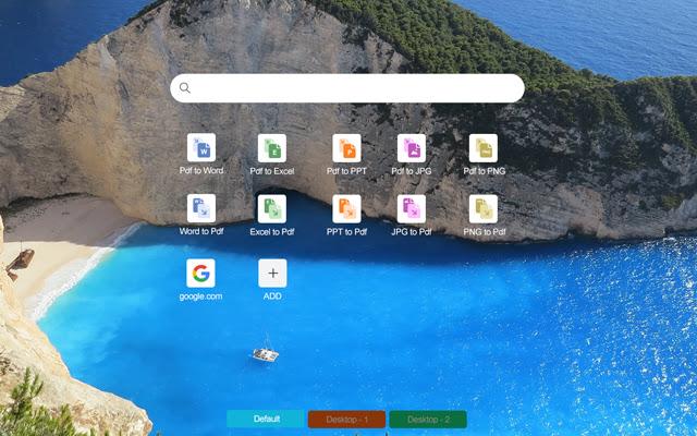 Convert PDF to Word New Tab Chrome