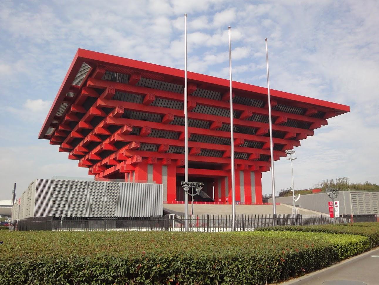 Pavillon Chine (Couronne de l'Orient) à Shanghai
