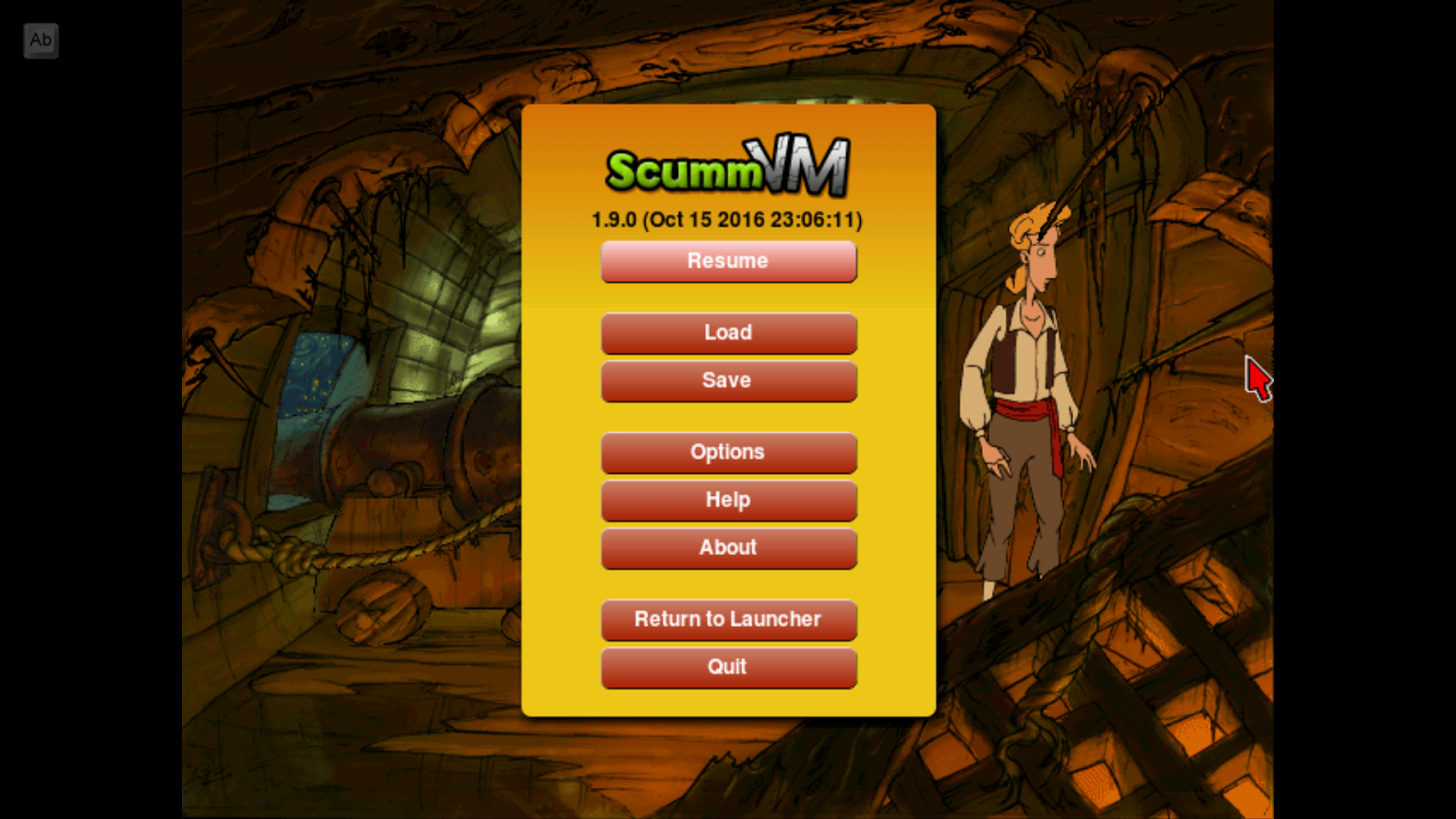 ScummVM- screenshot