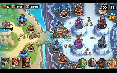 Kingdom Defense: Hero Legend TD MOD (Unlimited Gold/Gems) 7