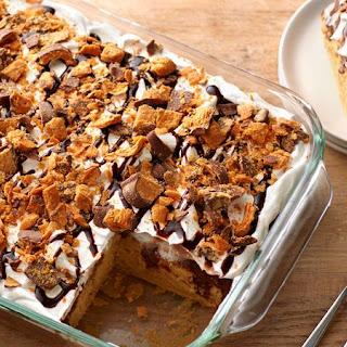 Butterfinger™ Poke Cake.