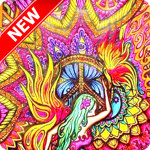 Live wallpaper android free trippy