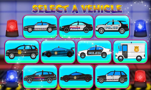 Police Multi Car Wash: Design Truck Repair Game 1.0 2