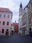 Untermarkt mit Schönhof und Rathaus