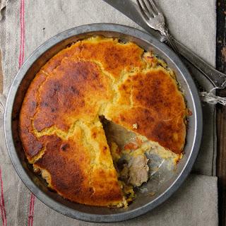 Cornbread Chicken Pot Pie